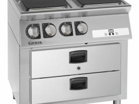 cucina elettrica con mantenitore